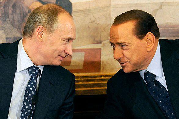 Опубликовано фото подарка Берлускони Путину