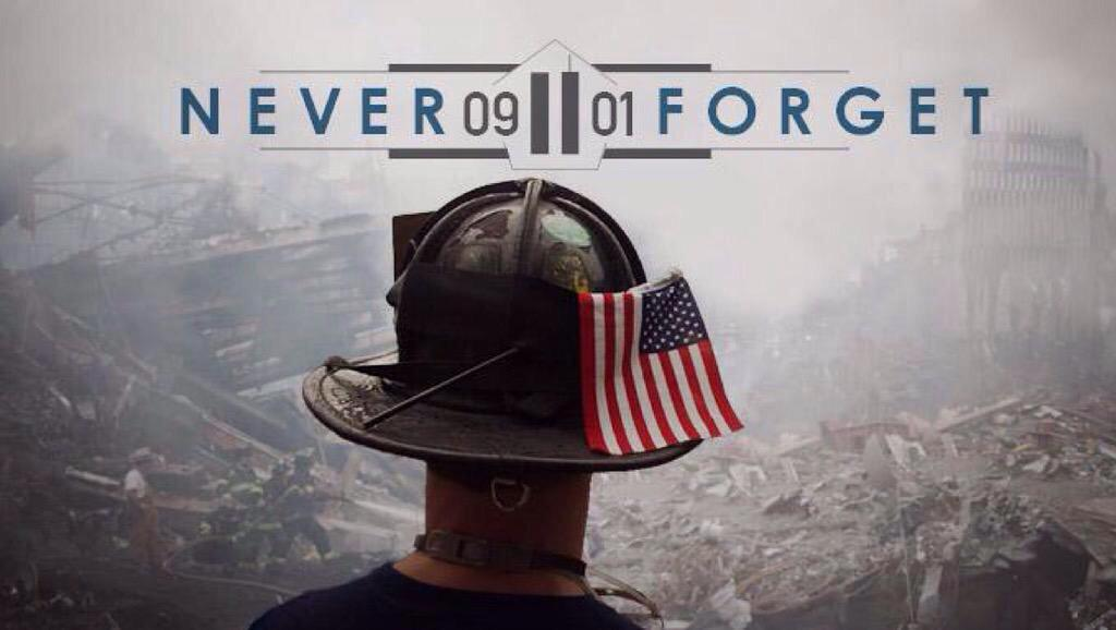 Today we remember the lives lost and lives forever changed by the events of 9/11 #NeverForget