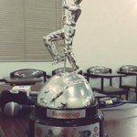 Trophy won by Pakistans physically challenged Cricketers at five nation tournament in Bangladesh. http://t.co/sHI91Ypy7x