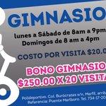 #CODEinforma Ven y visita nuestras instalaciones en el #Gimnasio del Polideportivo #Guanajuato https://t.co/3xr1ISwI8k