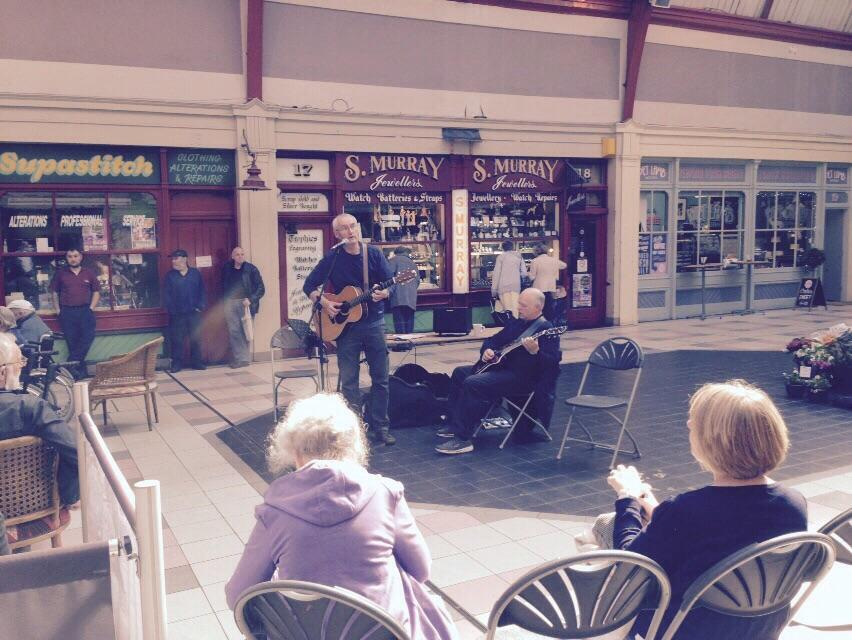 Two good gigs today at Killkngworth and The Grainger Market with Keith Armstrong and the poets. @john_leslie1979 http://t.co/rJ0KuexNh4
