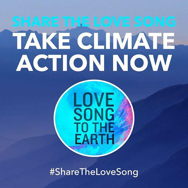 #Grateful to live on this beautiful planet & be a part of this song #LoveSongToTheEarth ????❤… http://t.co/xJDIFiy9By http://t.co/yVX8KtVSVP