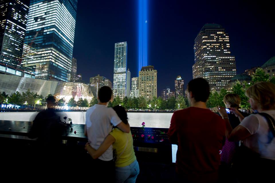 Remember. Reflect. And celebrate NYC's resilience. #TributeinLight via @Sept11Memorial #September11 http://t.co/lvdHLSCnex