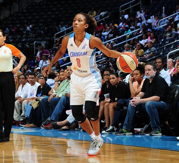 Check out Carla Cortijo (@8Cortijo) in her @AtlantaDream uniform! #PaQueTuLoSepas #ElDreamDeCarla #LiveIt http://t.co/tdkROOp6zW
