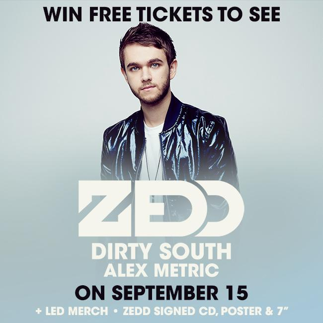 Find out how to win a FREE pair of tickets to @Zedd's San Diego show + signed prize package: http://t.co/HhIO5bkcRh http://t.co/s9C5gvqOVh