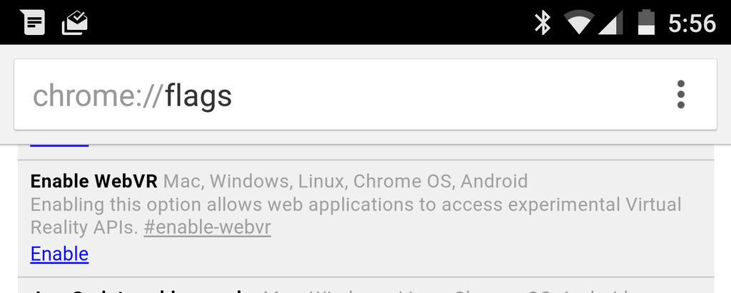 Hey! Look what just showed up in Chrome's Android Dev channel! http://t.co/GAQ8o4mnfZ