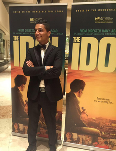 #TheIdol premiere is here. Proud to have supported this superb film through #Enjaaz - a truly inspiring film #TIFF15 http://t.co/us2zgkKYsa