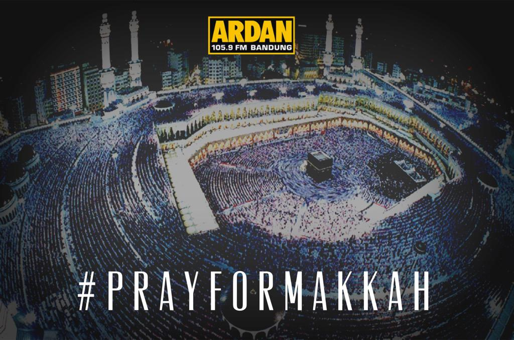 Innalillahi. My deep condolences goes to people who died&also 4 d families that lost their loved ones. #PrayForMakkah http://t.co/6mnLV1edVK