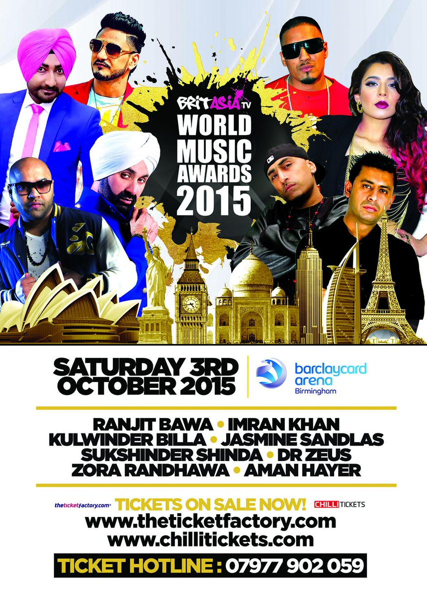 Tickets Selling Fast! Book Now! http://t.co/LTrOpPZpN7 or http://t.co/R7CUdy06yX  Call 07977 902 059 #BAWMA2015 http://t.co/ncIcSe0rOu