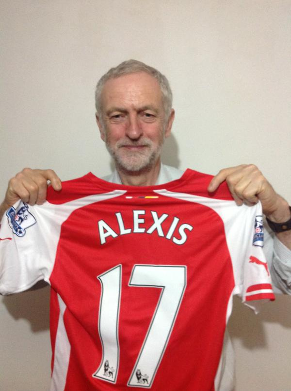 jackhowson (@jackrabb1t): Dear @jeremycorbyn. May the spirit of Alexis be with you sir, and good luck http://t.co/CaSbaxjG0u