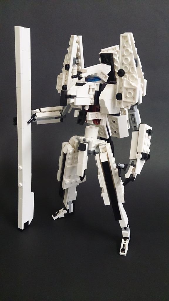 レゴでシドニアの騎士より「継衛改二」Tsugumori Custom 2 from Knights of Sidonia