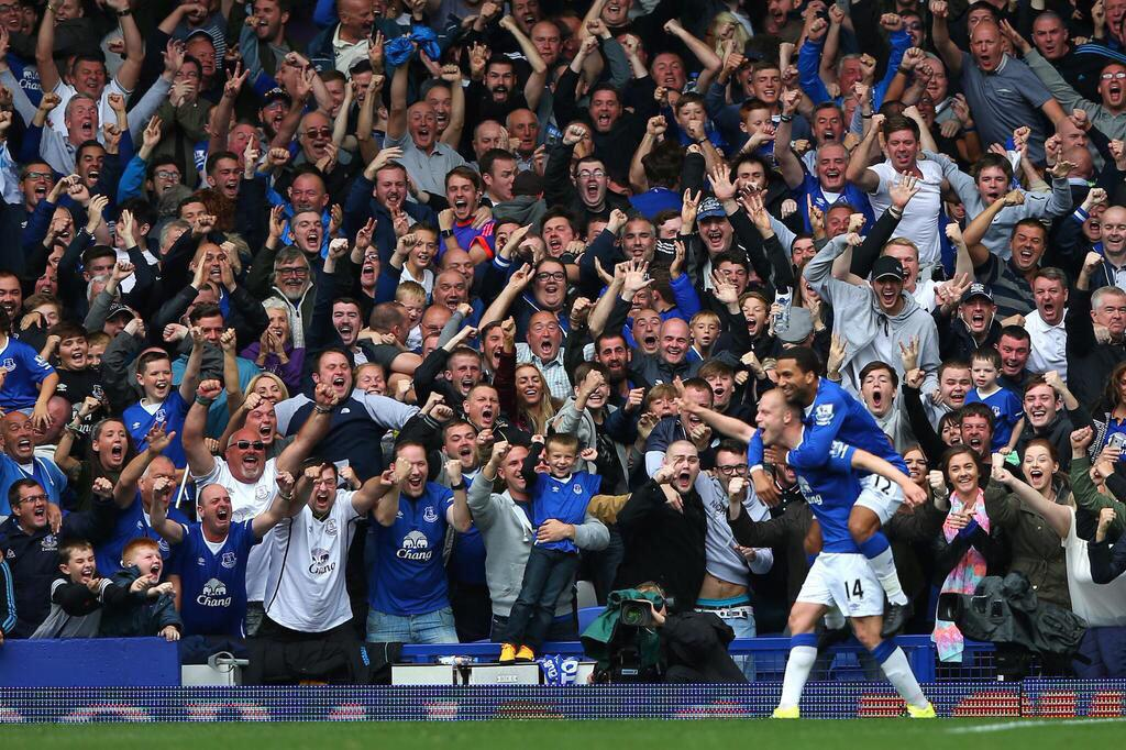 What a win!!! Buzzing to be back at Goodison today #toffees http://t.co/Z0CeJnz9Ci