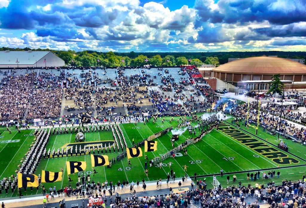 Perfect day for the first @BoilerFootball home game.... #BoilerUp http://t.co/EPW1viAf2p