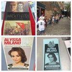 RT @MidtownComics: .@Alyssa_Milano will be signing #Hacktivist today at Midtown Comics Downtown! http://t.co/viGwutUD6x
