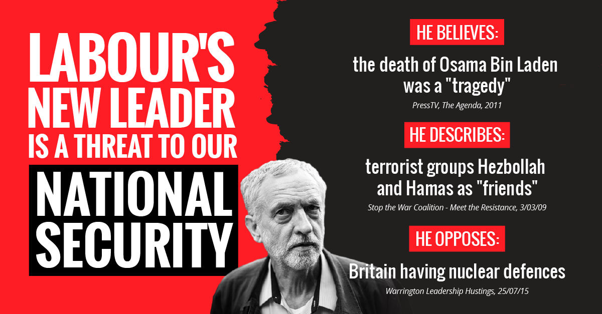 Labour are now a serious risk to our national security. Please RT to let everyone know. http://t.co/pH3c2S7RYa