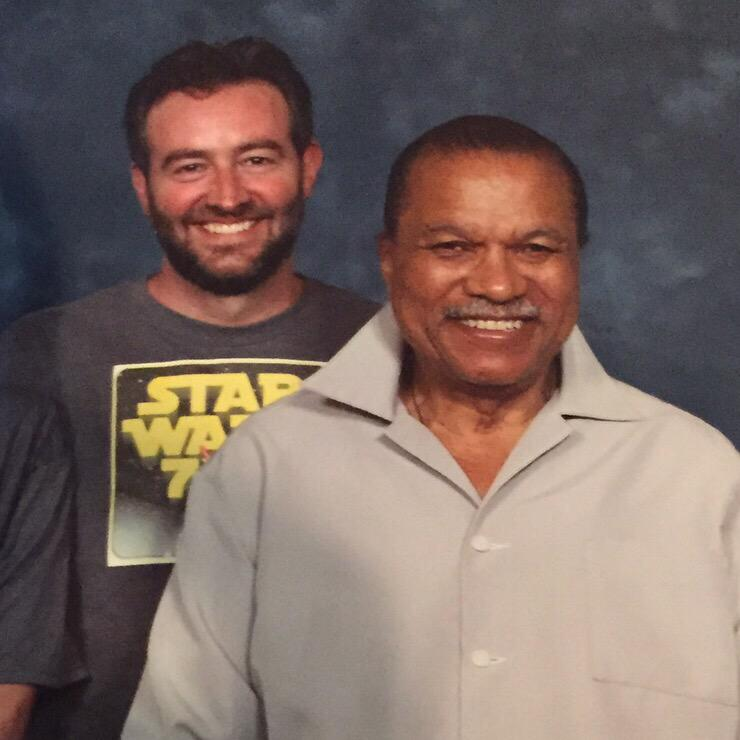 Well, THIS just happened! (Great to meet you at @granitecon today, @realbdw!) #StarWars #sw7x7 http://t.co/fDOenfHXIa