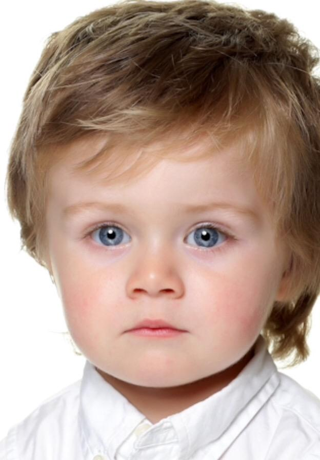How cute is our baby model Theo? @NiallOfficial must be proud
