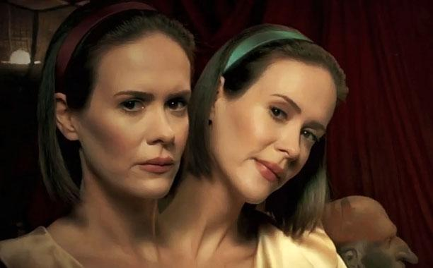 #AHSFreakShow won for Outstanding Makeup for a Limited Series or a Movie, which Bette & Dot would agree with. #emmys http://t.co/3ZGI3Iq2Kb
