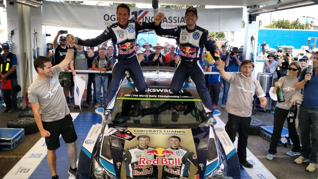 Surprise! There was a special message under @SebOgier's @VolkswagenRally Polo! #RallyAus #WRC http://t.co/lMMyBu0KX9