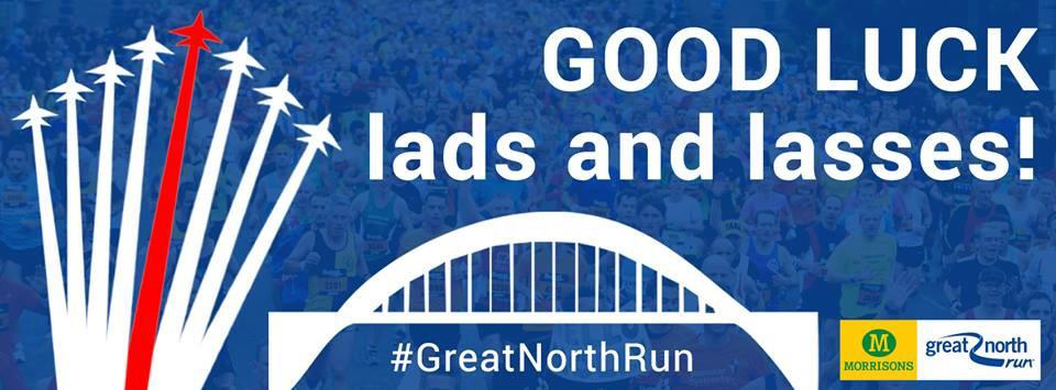 Good luck to all the runners taking part in the #GreatNorthRun today. Have a great day! http://t.co/k5UtQMQR7J