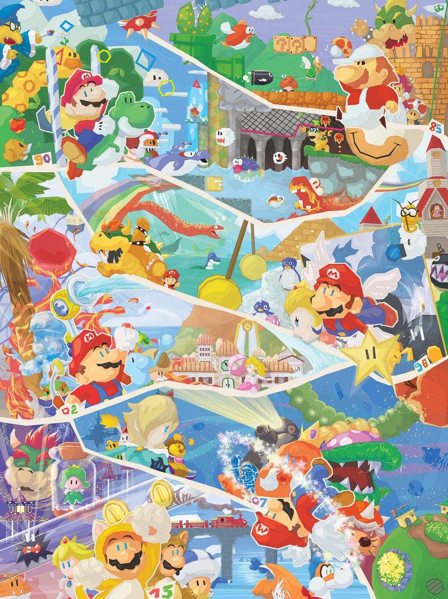 Happy bday' Mario! http://t.co/QtnIboTYZl (Still some copies left!!) #SuperMario30 http://t.co/CPk1lhuZCQ