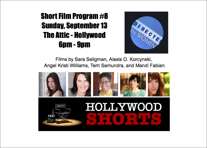 TODAY! Our @DirectedbyWomen celebration! 6pm at @TheATTIC_LA Free admission; RSVP: http://t.co/hYN031SUeh http://t.co/F74JviWJ65