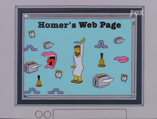 Most #MarioMaker levels seem to be like Homer's Web page. http://t.co/129g2avUAC