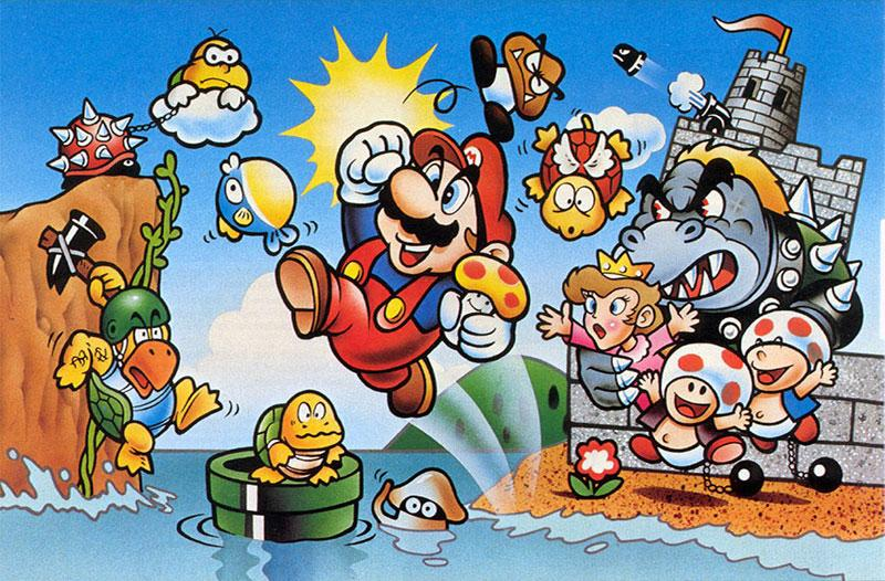 Super Mario Bros. came out 30 years ago today. When did you first play? http://t.co/Zevb8SvBJ0 http://t.co/OfalbPzXT1
