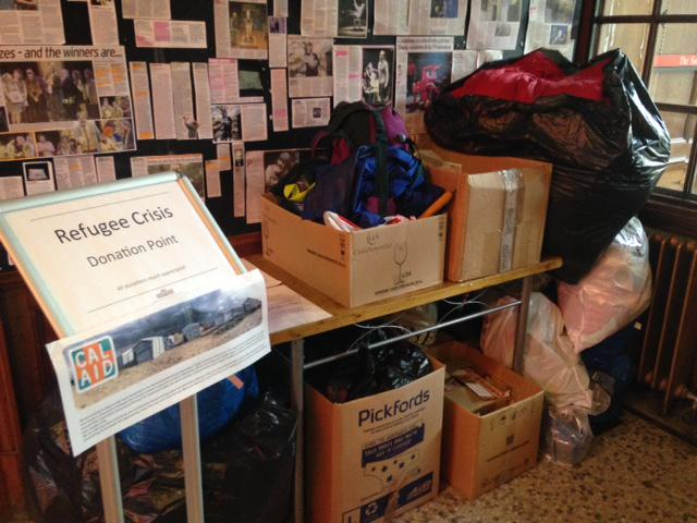 Summerhall is a @JoinCalAid donation point - please bring along your donations! More info: http://t.co/mtc5GGaj2t http://t.co/LBPPB6u1P2