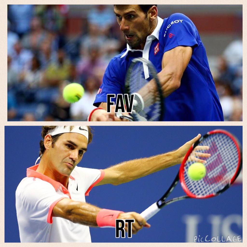 #USOpen: a muy poco de comenzar la final. ¿Quién es su favorito? RT Federer FAV Djokovic http://t.co/L40Sh9MMiA