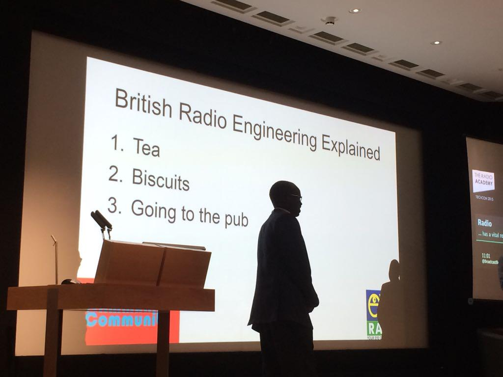 Wow our guests from S.Sudan got to grips with the #techcon15 audience VERY well. Tea, biscuits and going to the pub! http://t.co/OOMQtos6M2