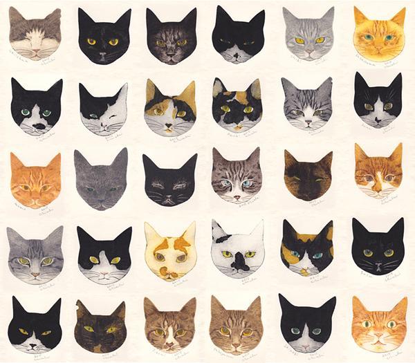 東京都「URESICA ウレシカ」で10月15日(木)~10月26日(月)に『坂本千明「猫の恩返し返し」展』が開催されます。  http://t.co/gjtPUlSuXt http://t.co/IKlS0Zuvlp
