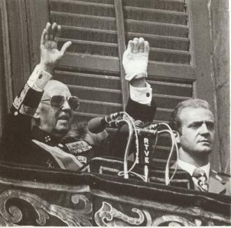 ¿Dónde estaba el Rey Juan Carlos el #27sep75 cuando el mundo entero reprochaba a Franco sus últimos fusilamientos? http://t.co/zGKPce345h