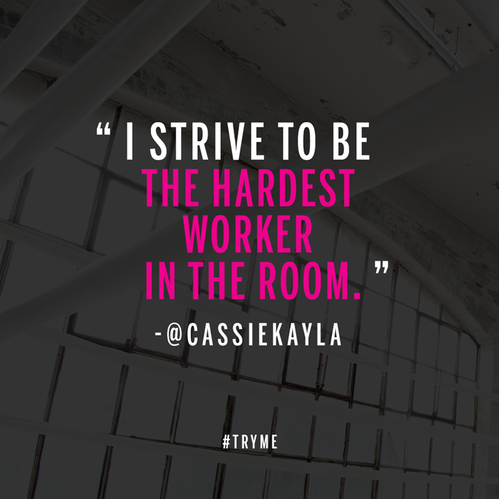 RT @VSSportOfficial: Push yourself. Inspire others. Tell us what motivates YOU w/ #TryMe. http://t.co/8UI9MdIOK9