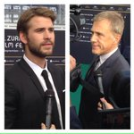 #LiamHemsworth & #ChristophWaltz at #zff2015