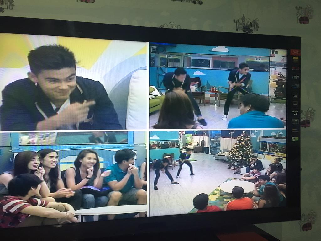 Now the teens are showing their dance moves. Fun seeing them together. #PBB737HomeComing http://t.co/MQGKtsYdsm