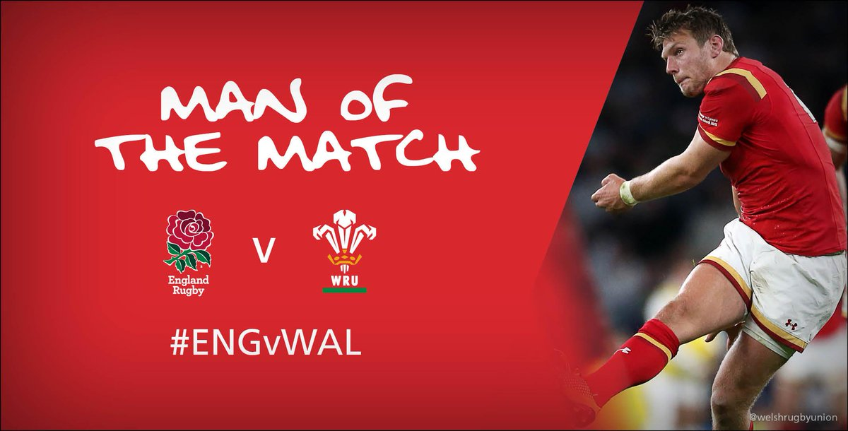 Congratulations to Dan Biggar who was named man of the match #ENGvWAL #RWC2015 http://t.co/EFyiRPWpgp