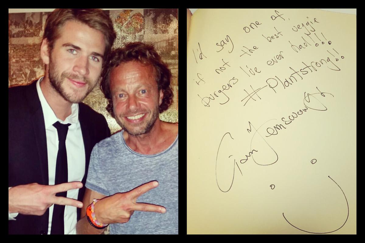 Thank you #LiamHemsworth for your visit tonight & all the best! #hiltl #visitzurich #ZurichFilmFestival http://t.co/GywkhUMc8o