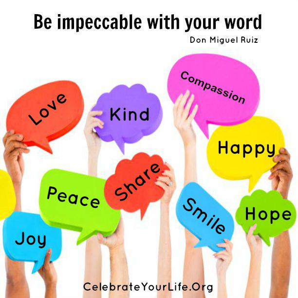 Be impeccable with your word. @donMiguelRuiz #CYLPhoenix http://t.co/UhUIVpea26