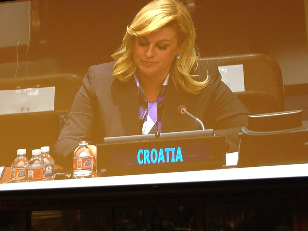 Education systems must be flexible and we must recognise teachers important role says Croatia's president #UNGA http://t.co/NWVN6C0oR7