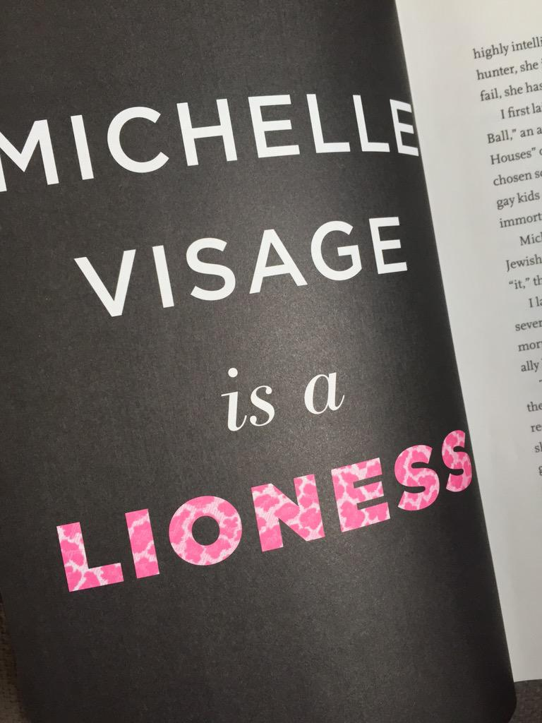 Go on, foreword by @RuPaul! #TheDivaRules @michellevisage http://t.co/qZ7Hl4lFiG