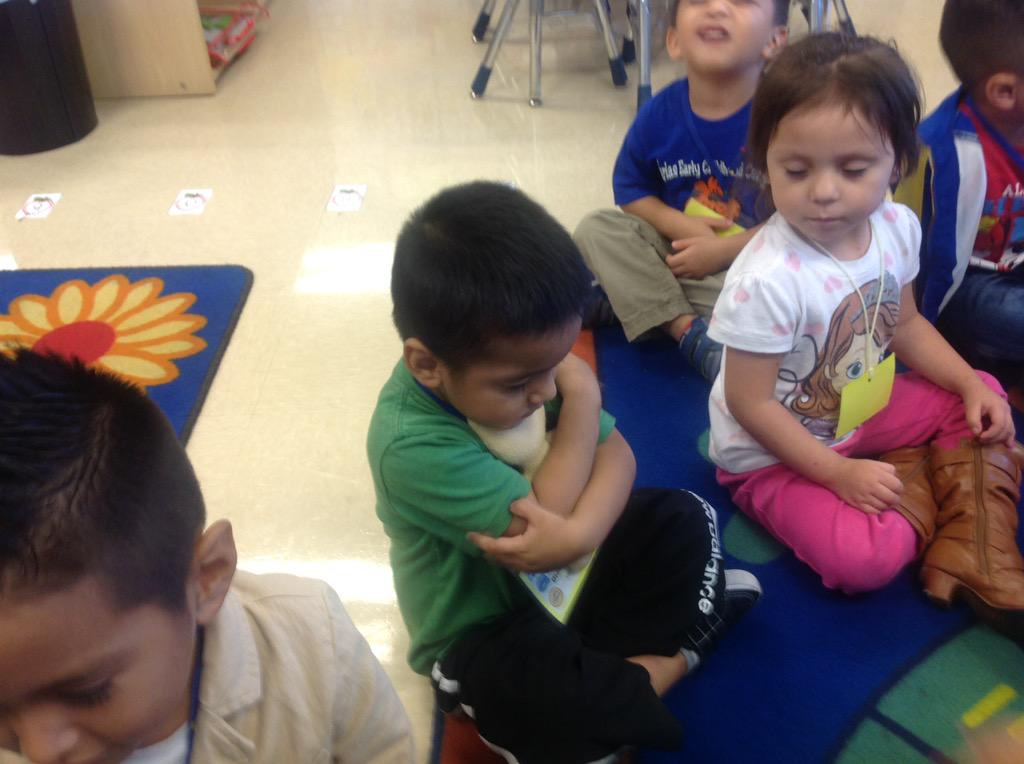 Learning self regulation with the help of the Feeling Buddies. #managingemotions@FariasECC http://t.co/GVHLsRkk3w