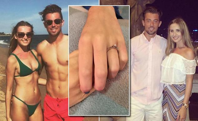 A devastated man bought a ring for his dead girlfriend and said