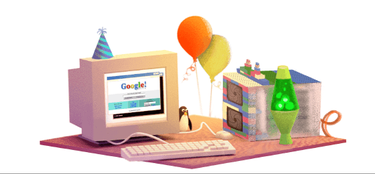 Cute to see a little tux  #Linux mascot figure in Google's 17th birthday doodle :) http://t.co/C9EClT6iTt