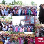 Fans are rapturously enjoying the merriment moments of #MSG2RocksPunjab. Everyone filled with zeal & gusto in Sangrur http://t.co/9FgFR2uZWo