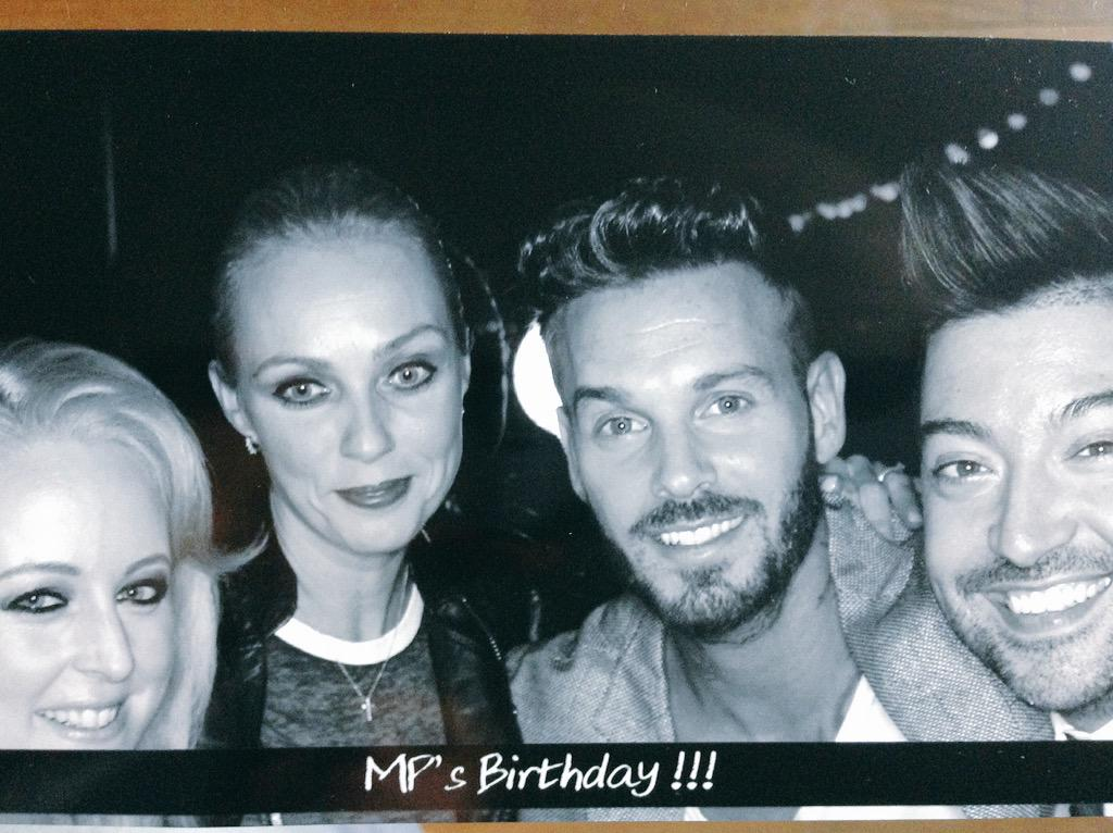 Great to meet you & Happy Birthday @MPOFFICIAL fab 2 hang out w/ my dear friends @LeChrisMarques  @JustJaciJax #DALS http://t.co/ia29TPNnO4