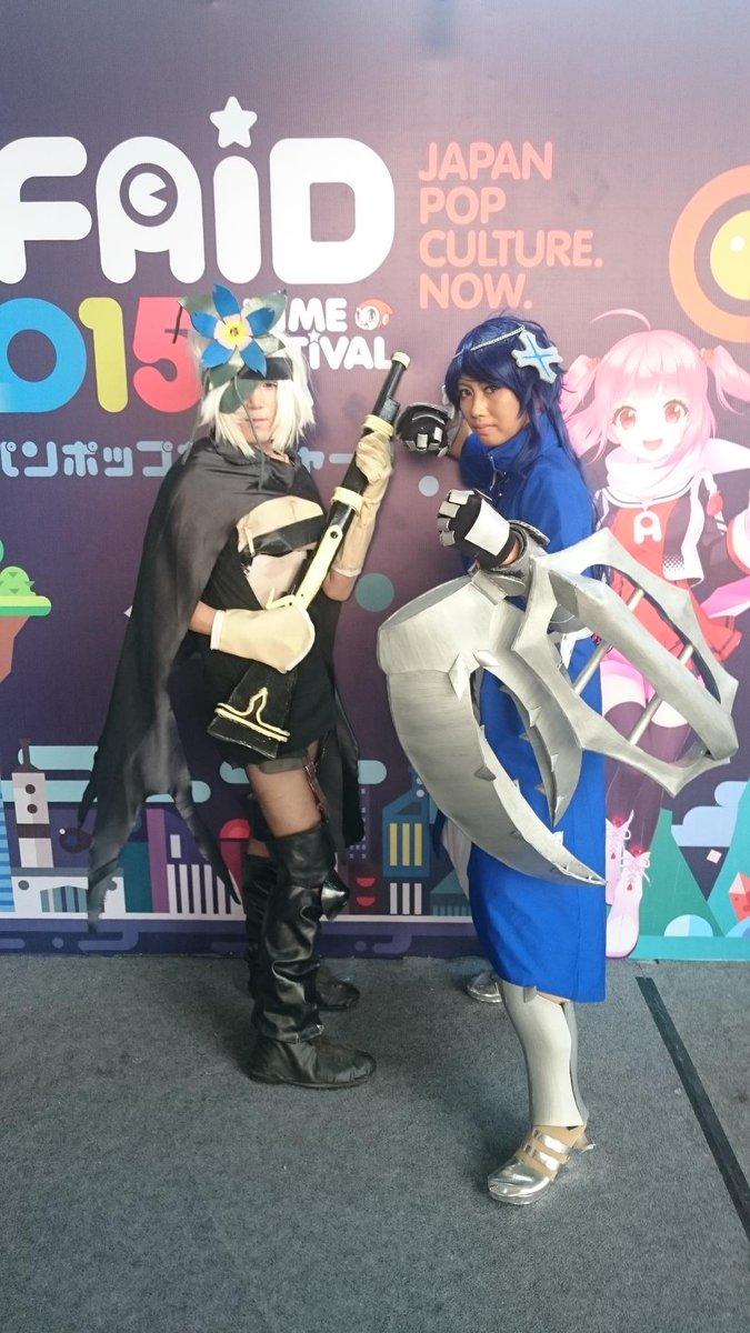 Anime Festival Asia 2015 Indonesiaの会場でモーラとフレミーを発見!(宣伝担当まっつお)