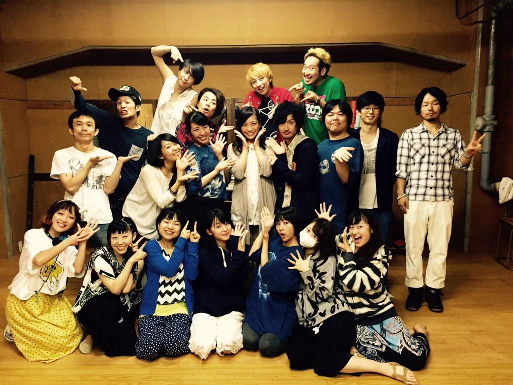 リジッター企画の稽古場に遊びに行ってきたよー!!芦沢さんver.コロちゃんver.両方観させていただきました!どっちも全然違って楽しかったとても好きです。本番が楽しみ!!9/30〜10/4までサンモールスタジオにて。みんながんばれー! http://t.co/HilybrwoeK