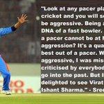 RT @KrishnajithKJ: @sreesanth36's comments on @imVkohli supporting @ImIshant's aggressive nature on field brings in a lot f appreciation ht…