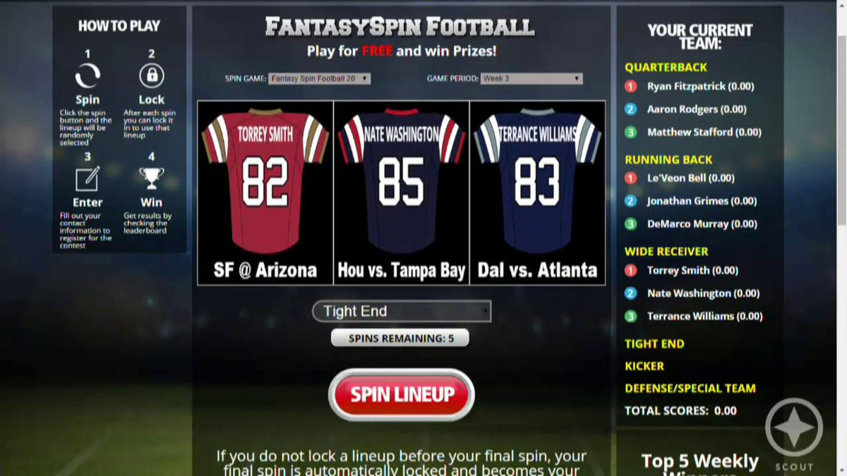 Watch: We try something new on our fantasy show presented by @DraftKings w/the Fantasy Spin! http://t.co/wsLOdfd8hP http://t.co/dvmVBKCcX3